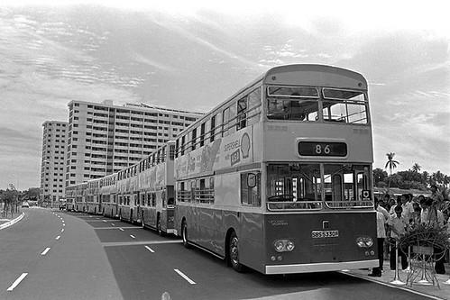 SBS First Double Deck 13 June 1977