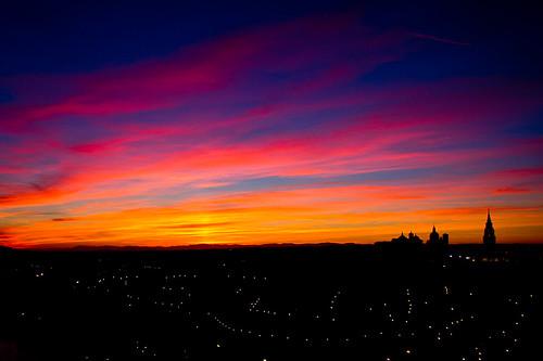 Anochece en Toledo