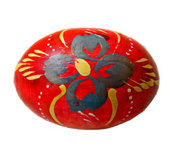 Russian wooden decorative egg (katunchik) Tags: art painting folk decorative painted sony egg russian eastern h9