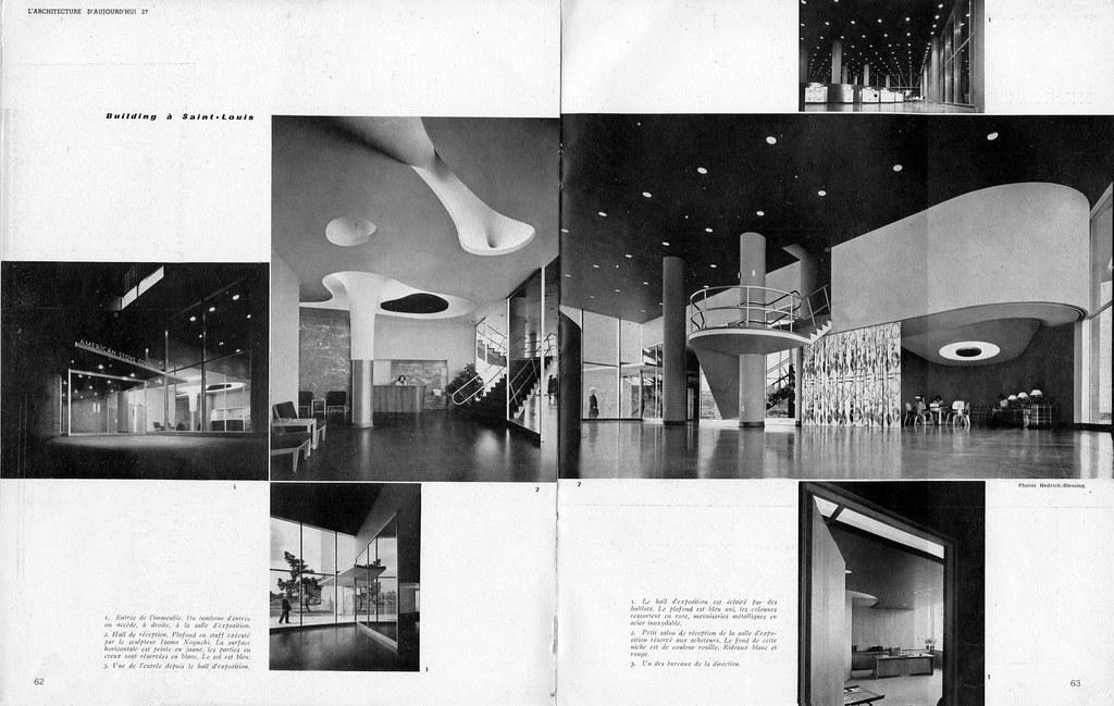 L'Architecure D'Aujourd'hui -- Magic Chef Building article