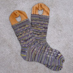 Holiday knit socks