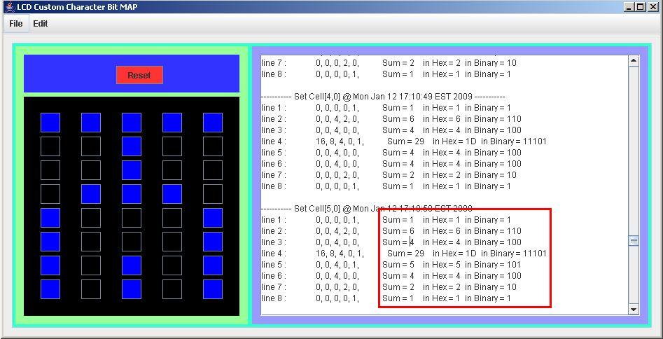 LCD Custom Character Creator « Circuit Negma