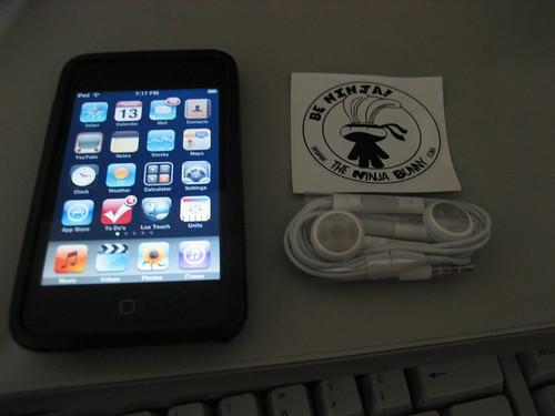 iPod audífonos con mic