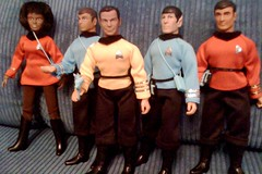 Mego Enterprise crew