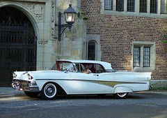 1958 Ford Fairlane 500 Skyliner hardtop convertible (carphoto) Tags: ford 1958 skyliner hardtopconvertible 1958fordfairlane500skyliner 1958fordskyliner