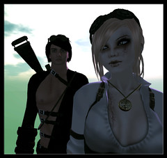 Steampunk 1 (Fricka M) Tags: avatar sl secondlife league omfg steampunk gothicatz