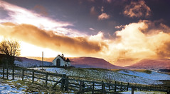 Church in the hills (Zog the Frog) Tags: sky snow perthshire amulree
