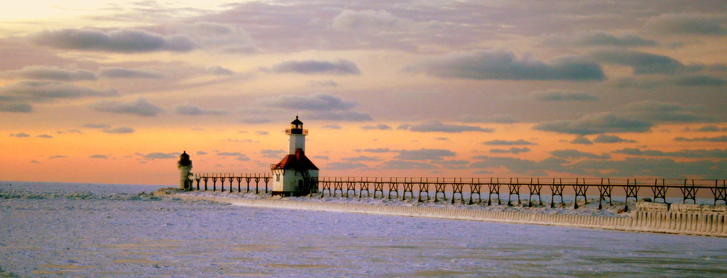 Benton Harbor Light, Michigan