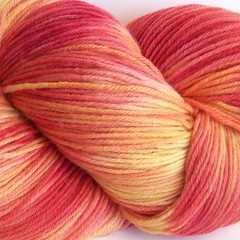 Hand Painted Sock Yarn
