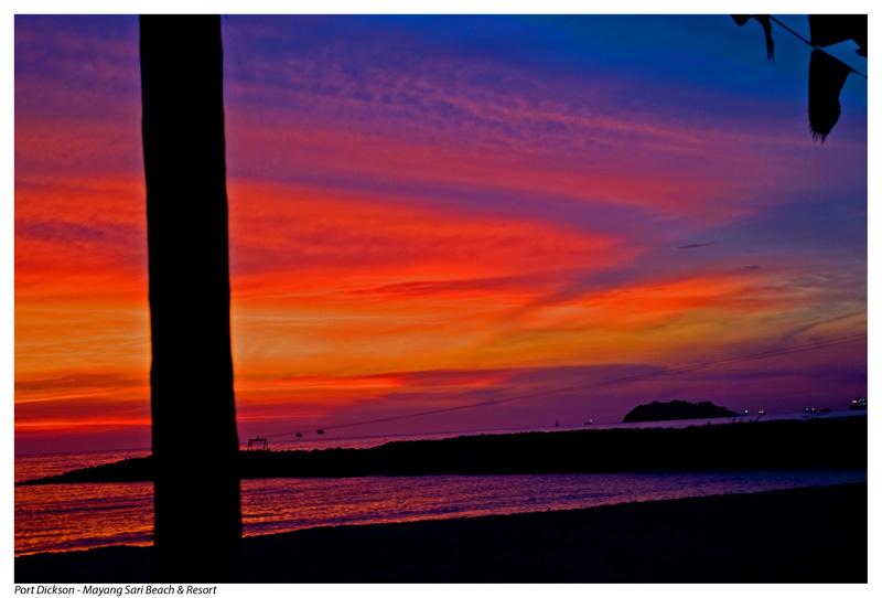 Port Dickson at dawn #2