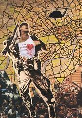 war against terror (narghee-la) Tags: streetart art primavera collage paper soldier spring war arte prague cola handmade glue political surreal guerra terrorist tshirt praga helicopter weapon photomontage papel colagem camiseta soldado helicóptero arma wkinteract terrorista fotomontagem político metralhadora àmão