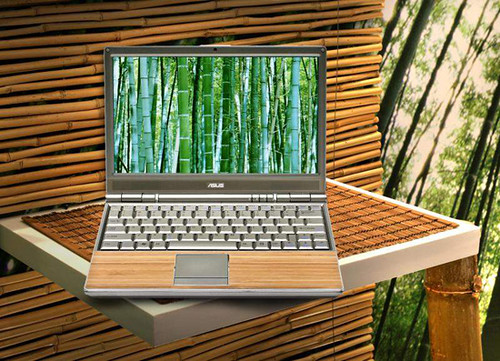 Latest Laptop from Asus is made of bamboo