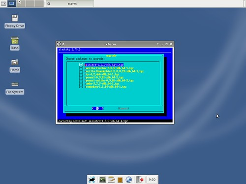 mise à jour de la BlueWhite64 12.2