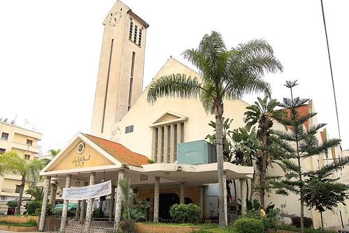 L'ancienne église du Maarif