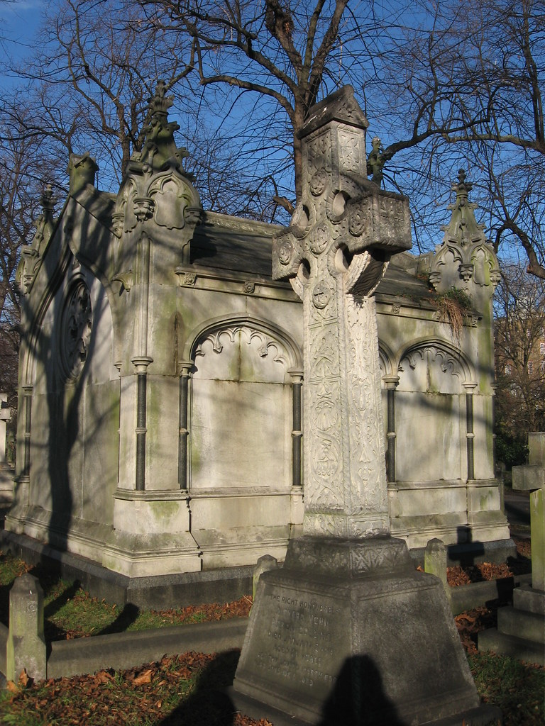 Brompton cemetery - The burial of Richard Collins, Baron Collins
