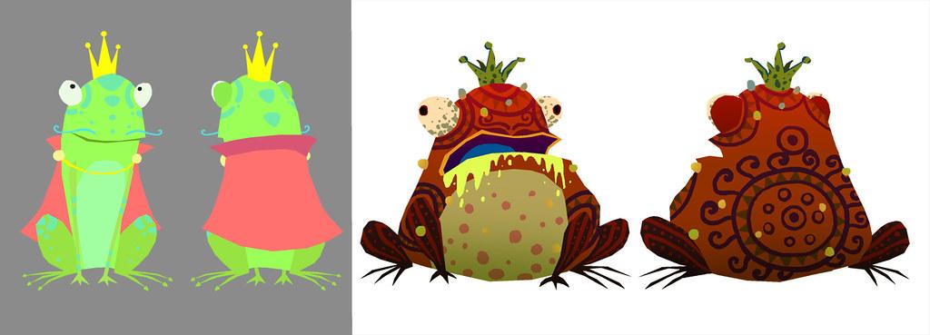 Frog Crowned