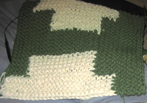 Bathmat in progress