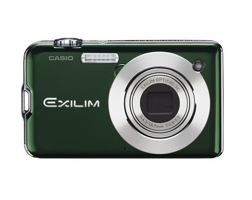 Green Casio Exilim EX-S12
