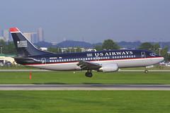 US Airways Boeing 737-301 N563AU (Flightline Aviation Media) Tags: airplane airport charlotte aircraft aviation jet airline boeing 737 canond30 stockphoto usair usairways clt 737300 kclt 737301 n563au bruceleibowitz