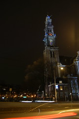 Westerkerk (chicago3120) Tags: amsterdam night canal jordaan