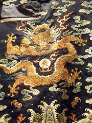 Asian Dragon - on Qing Man's formal court robe