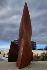 Wake - Seattle (anadelmann) Tags: seattle blue sky sculpture usa brown building art metal architecture grey washington wake sam minolta steel w gray f100 7d wa multiple konica dynax serra weiss dri unocal seattleartmuseum maxxum richardserra wiggles exposures konicaminolta industrialsite olympicsculpturepark exposureblending v1000 manfredi konicaminoltadynax7d konicaminoltamaxxum7d charlesandersonlandscapearchitecture theunforgettablepictures betterthangood minimalistsculptor wunits anadelmann