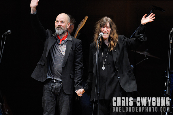 Michael Stipe & Patti Smith