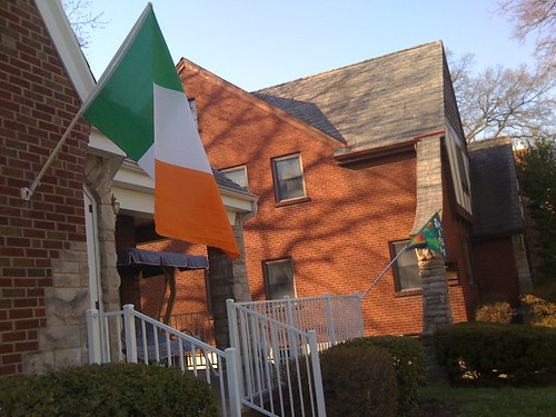 Irish flag from Ireland