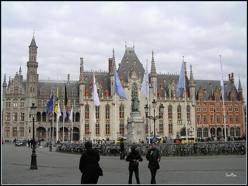 De Grote Markt, Brugge por Eber M..