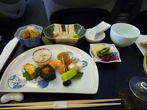 in-flight meal (JAL)