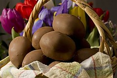 Do it Yourself Easter Chocolate Creme Eggs