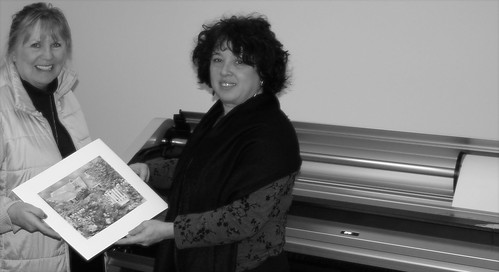 Me and Susan Fader at Ditto Editions