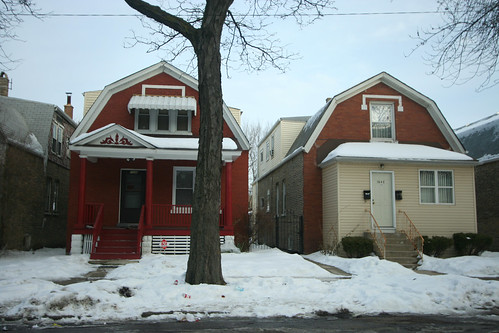 Houses on Keeler