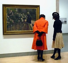 Caillebotte's Ladies Wear Hats (Trish Mayo) Tags: woman newyork brooklyn painting hats brooklynmuseum caillebotte wwwbrooklynmuseumorg thebestofday gününeniyisi