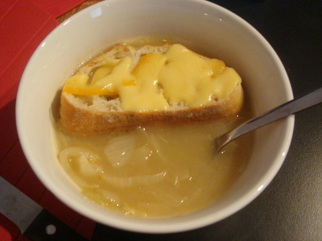 法式洋蔥湯成功!