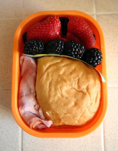 Preschooler Bento #160: March 27, 2009
