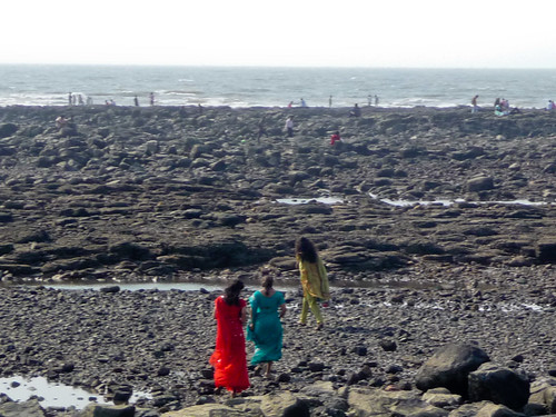 RGB saris on the beach by you.