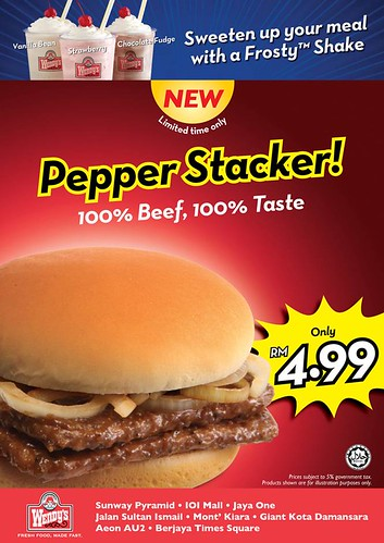 Pepper Stacker - Only RM4.99!