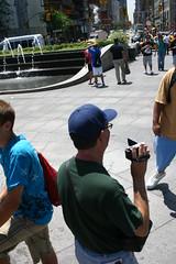 Youtuber in Columbus Circle (maxsmith) Tags: nyc columbuscircle 789gathering