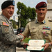 Italian NCO Receives U.S. Medal - United States Army Africa - SETAF - VICENZA, ITALY - 090710