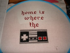 correct gray (Chickpea981) Tags: kirby crossstitch nintendo mario gift link zelda nes megaman 80skid oldschoolnes nintendocrossstitch
