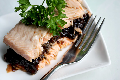 Trout with Prune and Pomegranate Filling