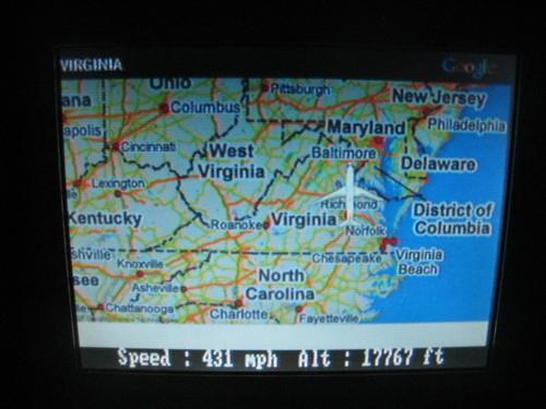 Heading back to Virginia