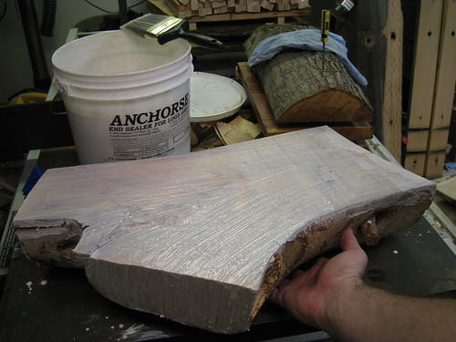 Anchorsealed log half