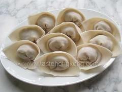 Chinese Wontons (TasteHongKong) Tags: recipe soup chinese wonton