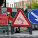 Beware Centaurs Ahead - on street