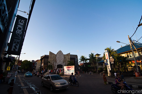The Streets of Kuta