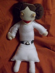 Custom Princess Leia (LittleCritters00) Tags: little harry potter plush critters custom