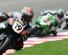 BSB #19 (nickphotos) Tags: plant honda kent nikon head steve free racing british hatch practice friday hm circuit motorbikes 19 70200 f28 vr gp brands on superbikes brogan stirlings clearways