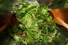 Wilted Spinich Salad